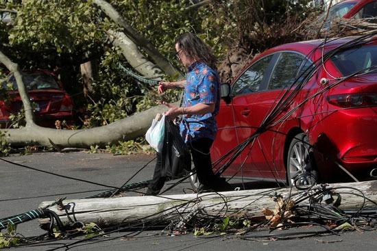 أضرار إعصار إسياس