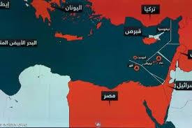 تحركات تركيا فى شرق المتوسط