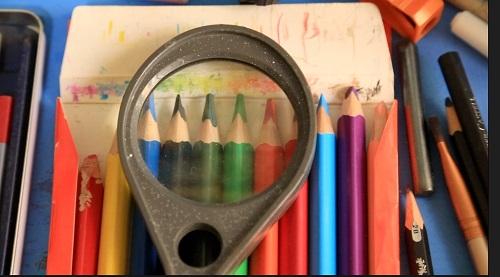 النحت على سن القلم الرصاص (8)