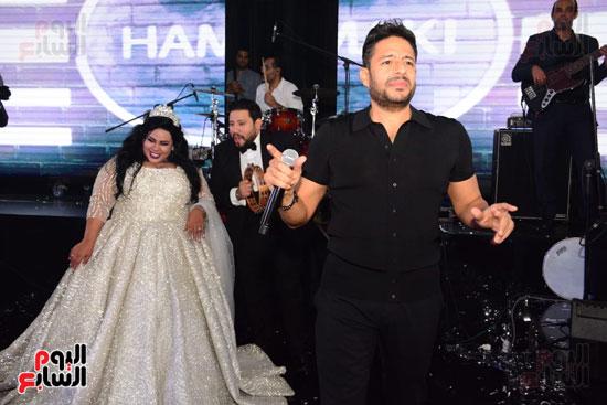 جانب من حفل زفاف شيماء سيف ومحمد كارتر
