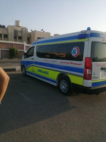 جثامين المصريين ضحايا انفجار مرفأ بيروت  (2)
