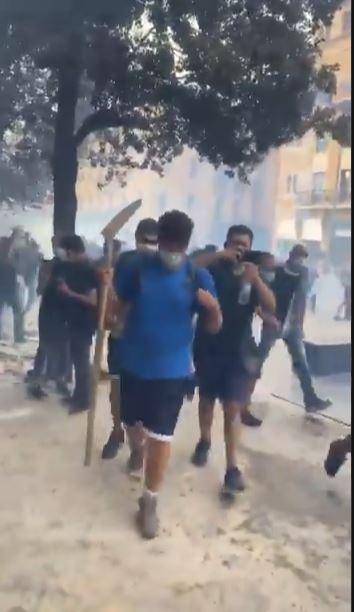 مظاهرات في بيروت (4)