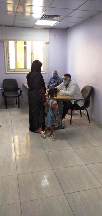 مستشفى-الأقصر-العام-تبدء-العمل-فى-العيادات-الخارجية-وتستقبل-المواطنين-(4)