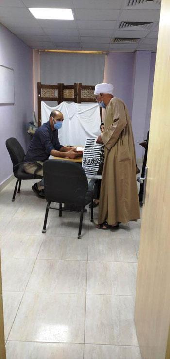 مستشفى-الأقصر-العام-تبدء-العمل-فى-العيادات-الخارجية-وتستقبل-المواطنين-(2)