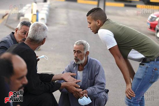 اهالي  ضحايا انفجار بيروت  (1)