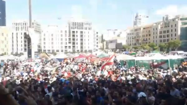 مظاهرات في بيروت (2)
