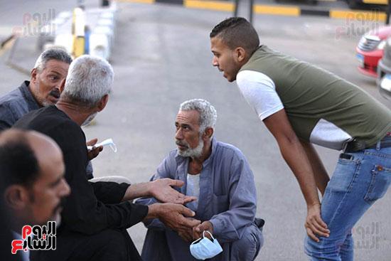 اهالي  ضحايا انفجار بيروت  (2)