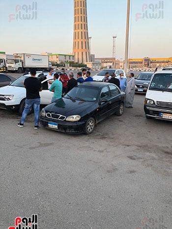 أهالى المصريين ضحايا انفجار مرفأ بيروت (5)