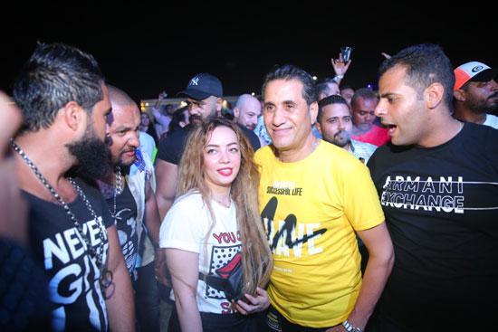 حفل أحمد شيبة بالساحل الشمالى (8)