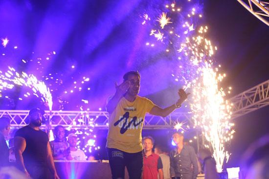 حفل أحمد شيبة بالساحل الشمالى (7)