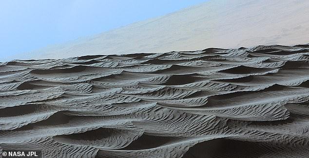 صورة لتربة المريخ