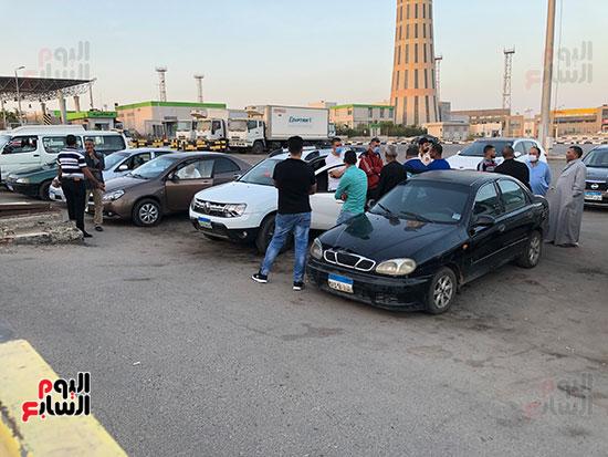 أهالى المصريين ضحايا انفجار مرفأ بيروت (6)