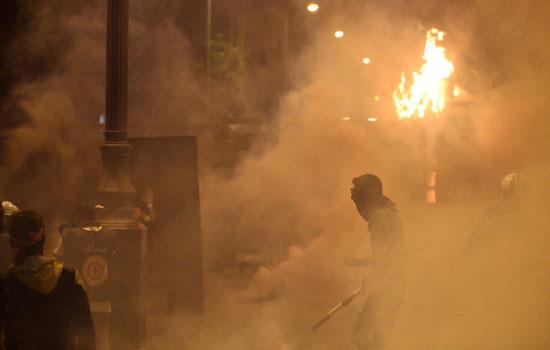 جانب من العنف فى بيروت