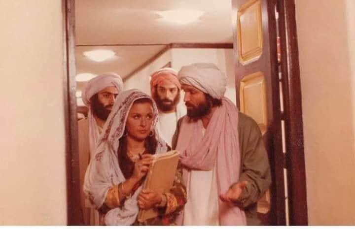 سعاد حسنى من فيلمها الممنوع من العرض أفغانستان لماذا (4)