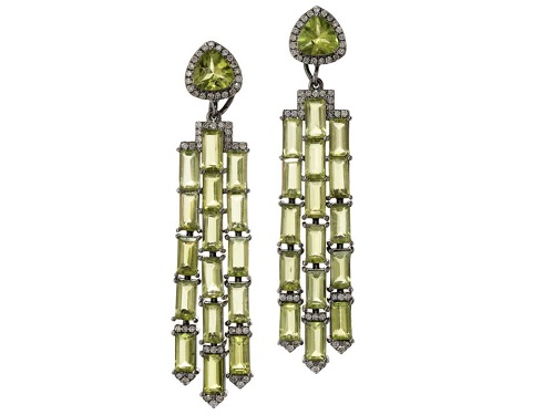 مجوهرات من حجر الزبرجد (6)