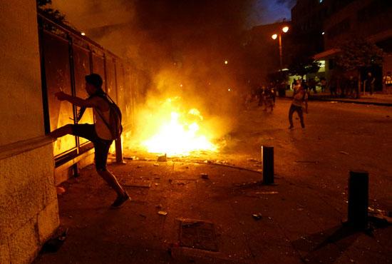 العنف فى بيروت
