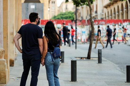 متظاهرو بيروت