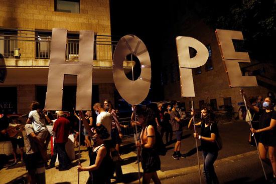 مسيرات غاضبة من سياسات نتنياهو