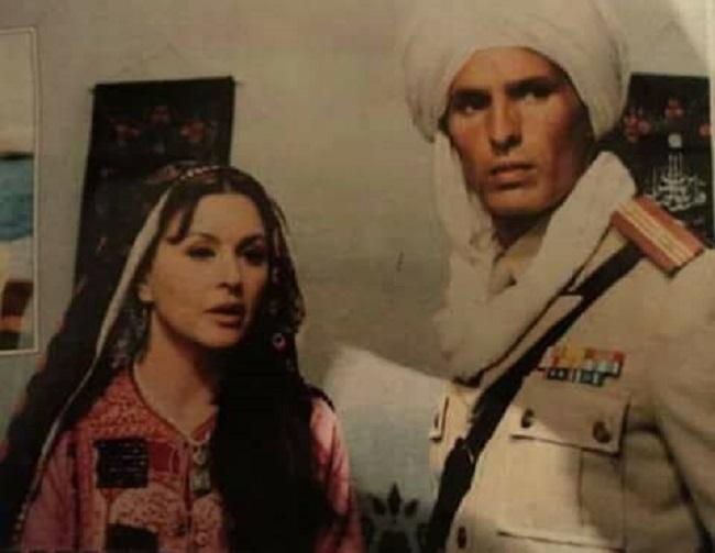 سعاد حسنى وعبد الله غيث من فيلم أفغانستان لماذا