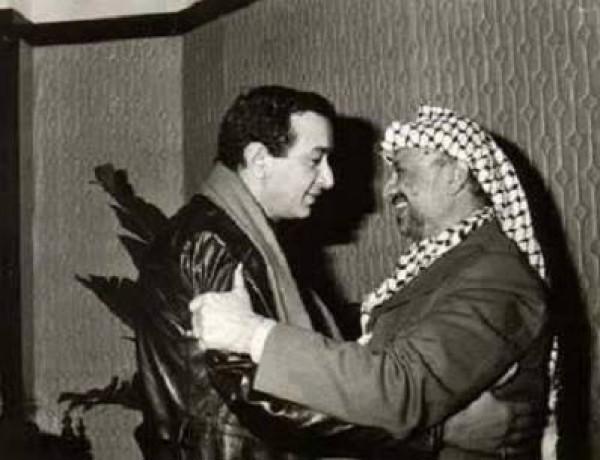 نور الرشريف وياسر عرفات