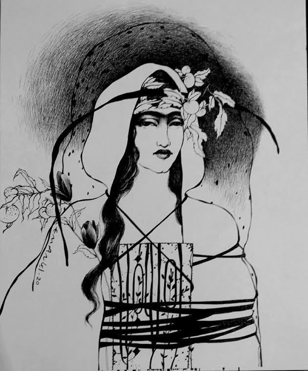 عمل فنى بكلية الفنون الجميلة بالزمالك (1)