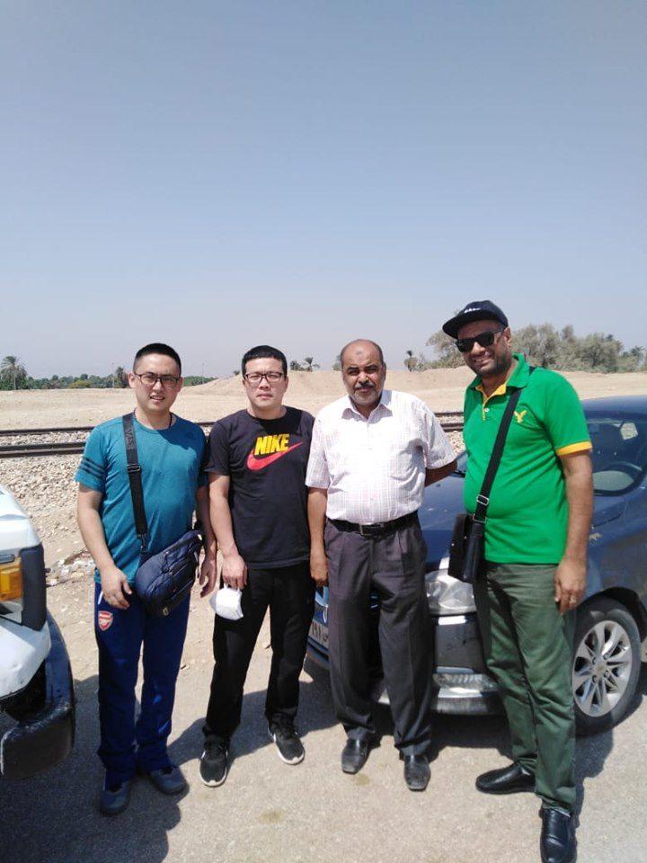 وفد من من الشركة الصينية المنفذة لمشروع محطة توليد كهرباء الهنادى  (5)