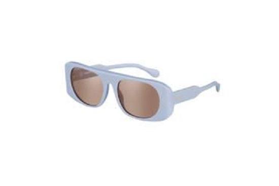 نظارة باللون الأزرق النيلي