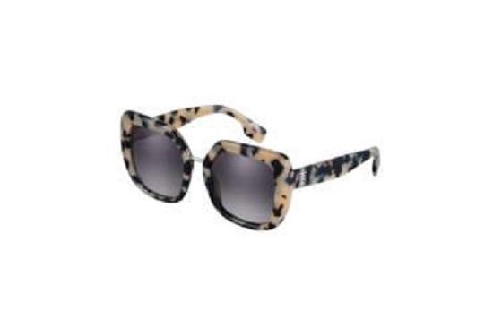 نظارة شمسية بنقشة السلحفاة