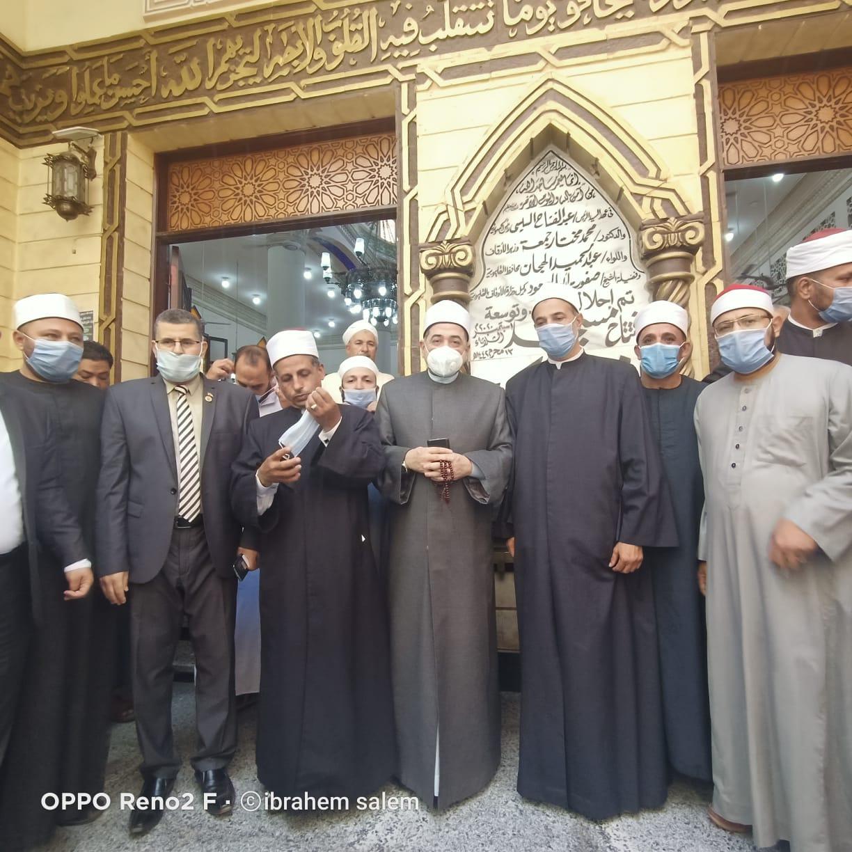 افتتاح مساجد جديدة بالقليوبية