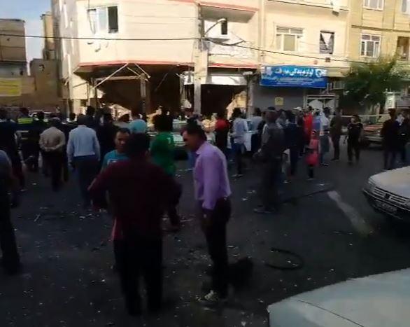 انفجار في طهران (1)