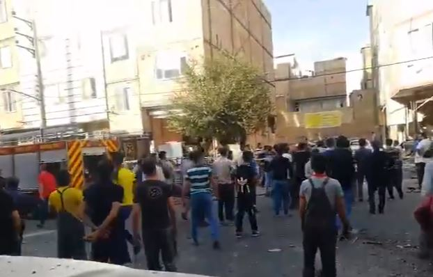 انفجار في طهران (3)