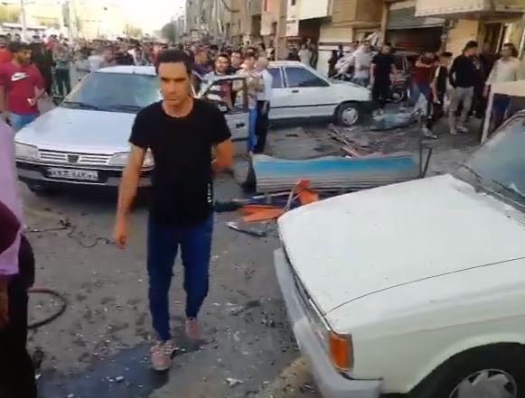 انفجار في طهران (2)