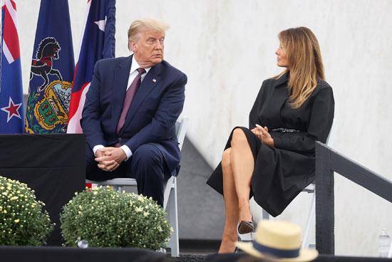 ترامب يتحدث لميلاينا