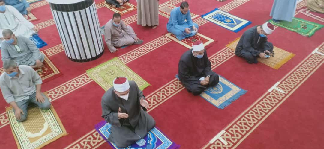 أداء صلاة الجمعة بمسجد الدرب الكبير