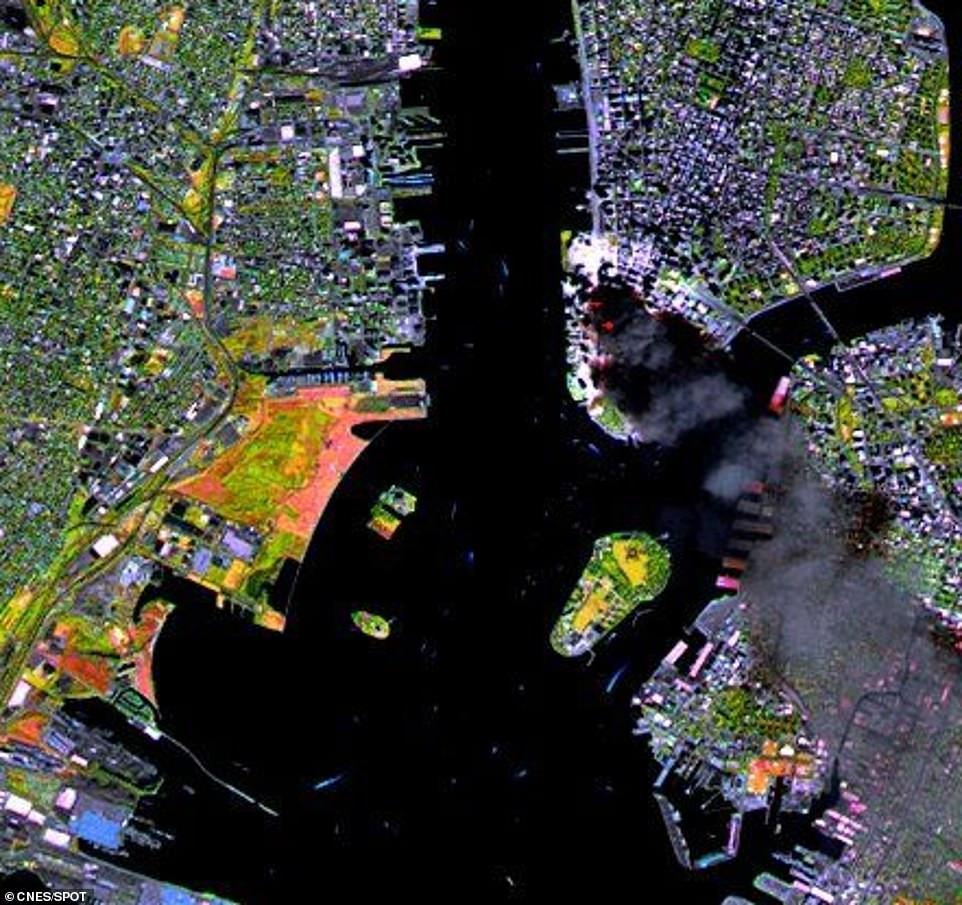 صورة من الأقمار الصناعية