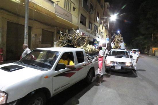 ضبط مقهى مخالف يقدم شيش لرواده فى حملات بمحافظة الأقصر (4)