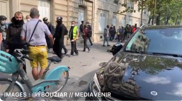 أعمال عنف في باريس
