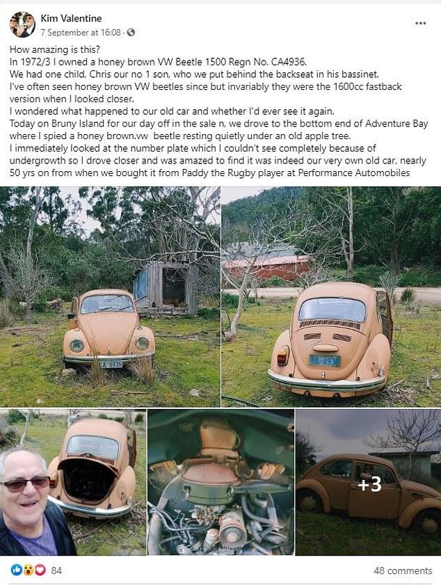 كيم نشر بوست حول ايجاد السيارة من جديد