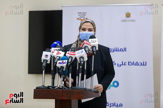 مؤتمر وزيرة التضامن  (7)