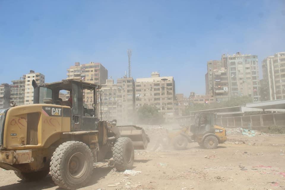 رفع المخلفات من أرض المطاحن بفيصل  (5)