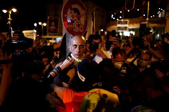 مسيرات منددة بفساد حكومة نتنياهو