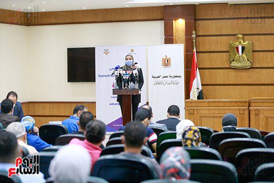 مؤتمر وزيرة التضامن  (8)