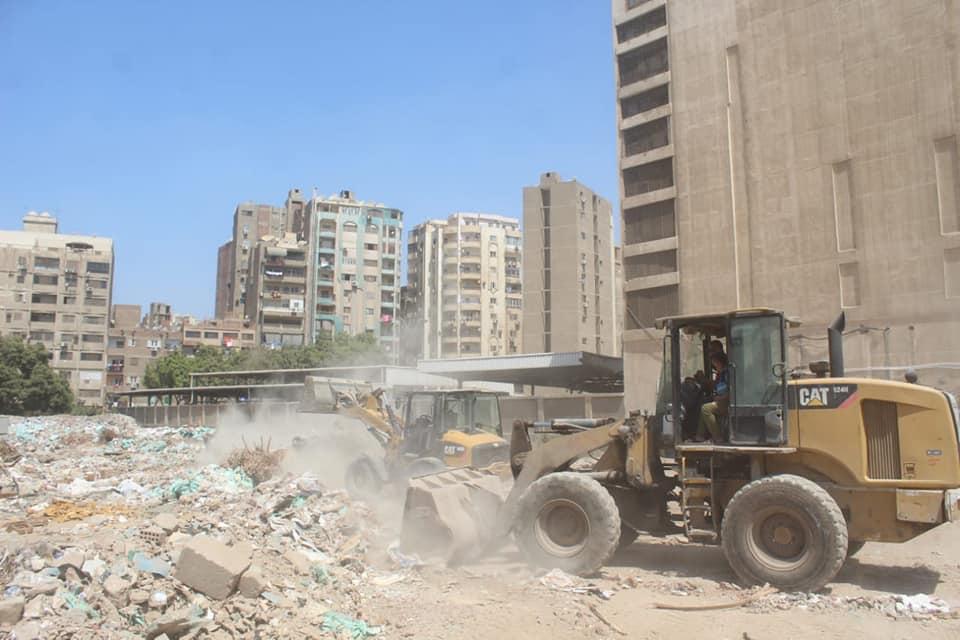 رفع المخلفات من أرض المطاحن بفيصل  (6)