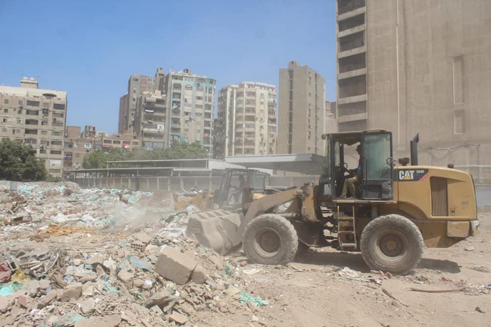 رفع المخلفات من أرض المطاحن بفيصل  (3)