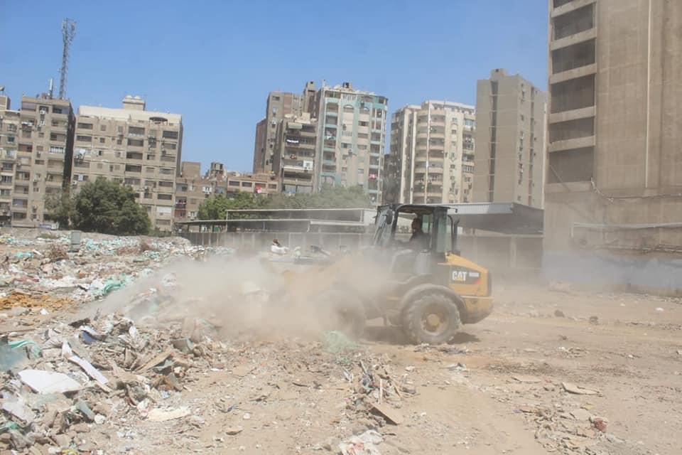 رفع المخلفات من أرض المطاحن بفيصل  (2)