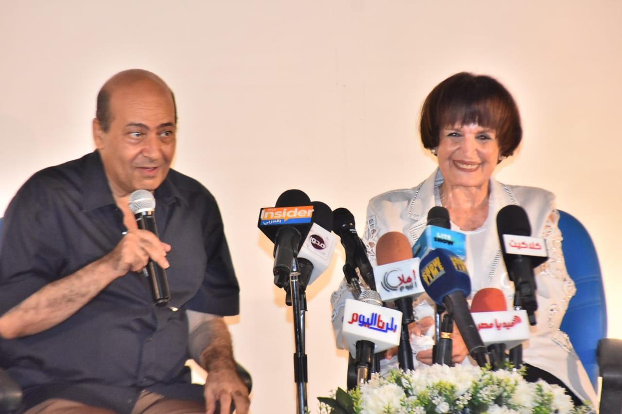 جانب من تكريم سميرة احمد
