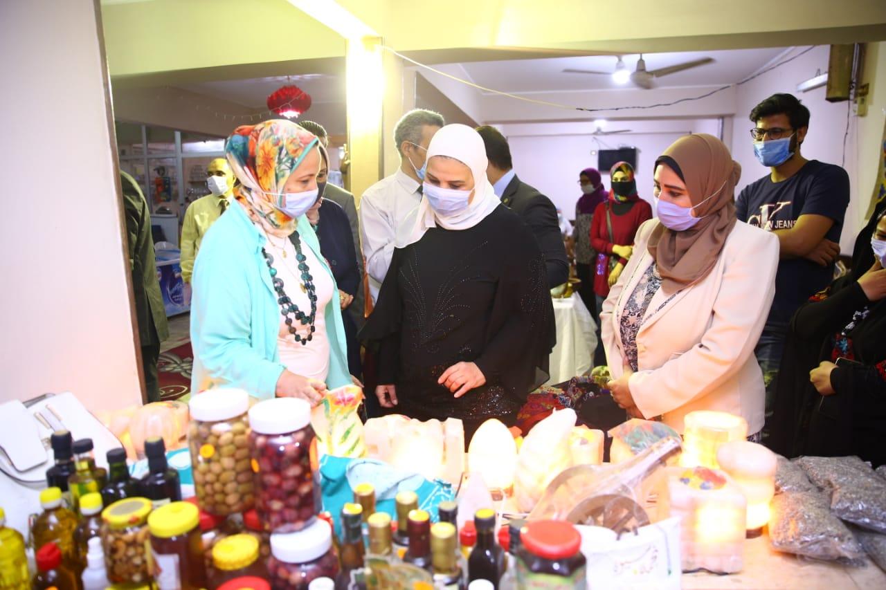 افتتاح معرض الاسر المنتجة بالاسكندرية (2)