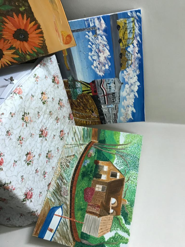 اللوحات الفنية للشاب محمد احمد عبد المجيد  (6)
