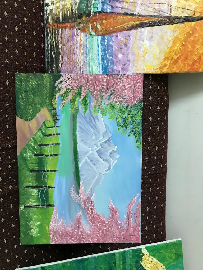 اللوحات الفنية للشاب محمد احمد عبد المجيد  (10)