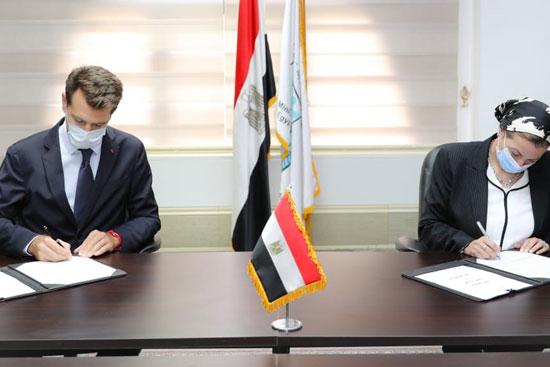 شراكة استراتيجية بين وزارة البيئة وڤودافون مصر (4)